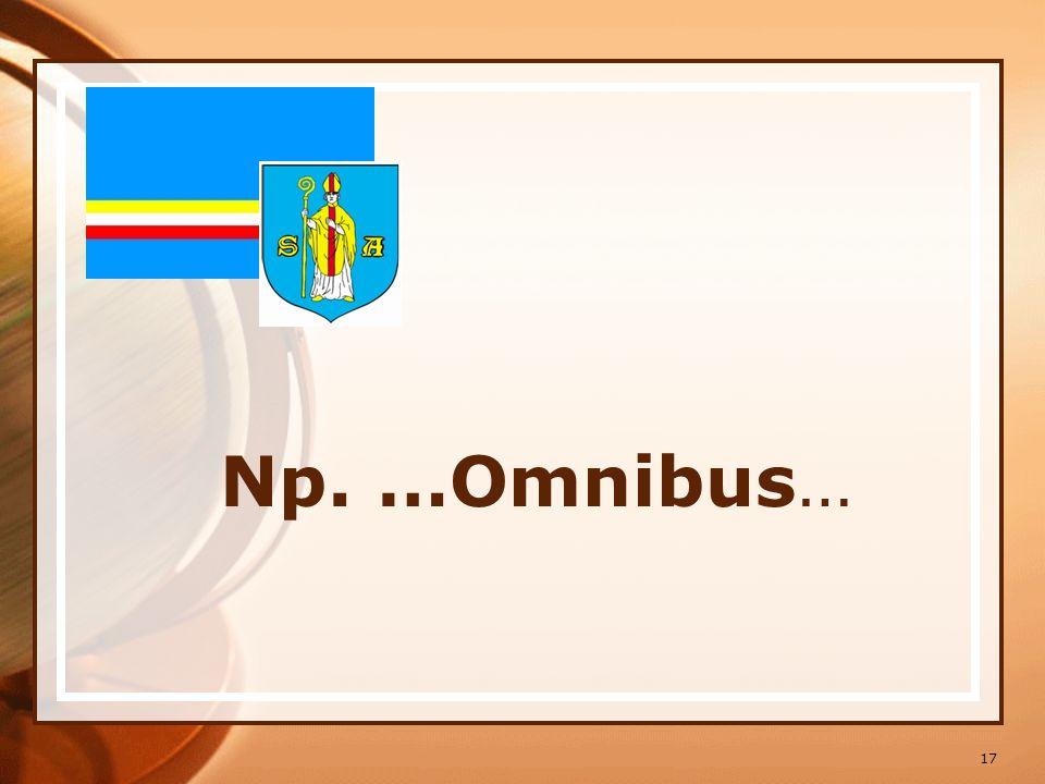 Np. …Omnibus…