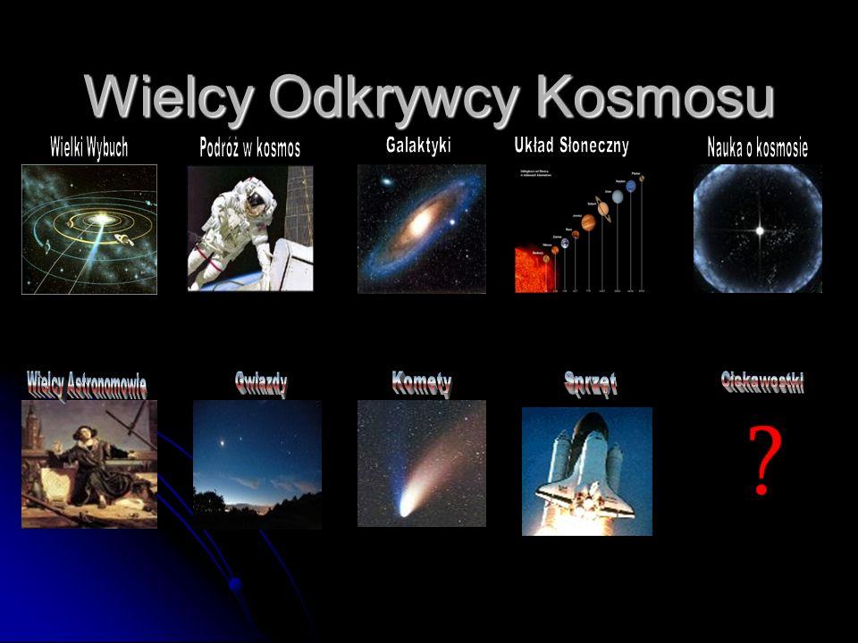 Wielcy Odkrywcy Kosmosu
