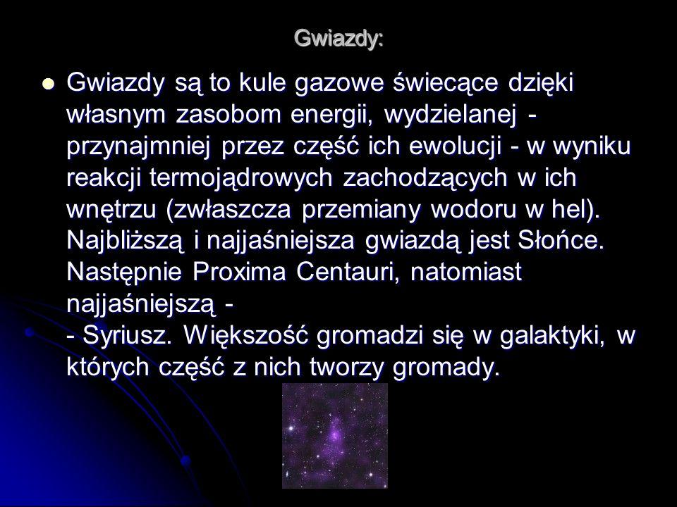 Gwiazdy: