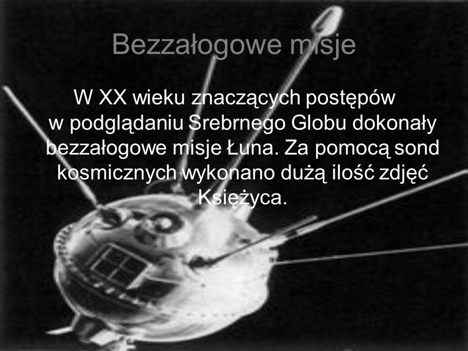 Bezzałogowe misje