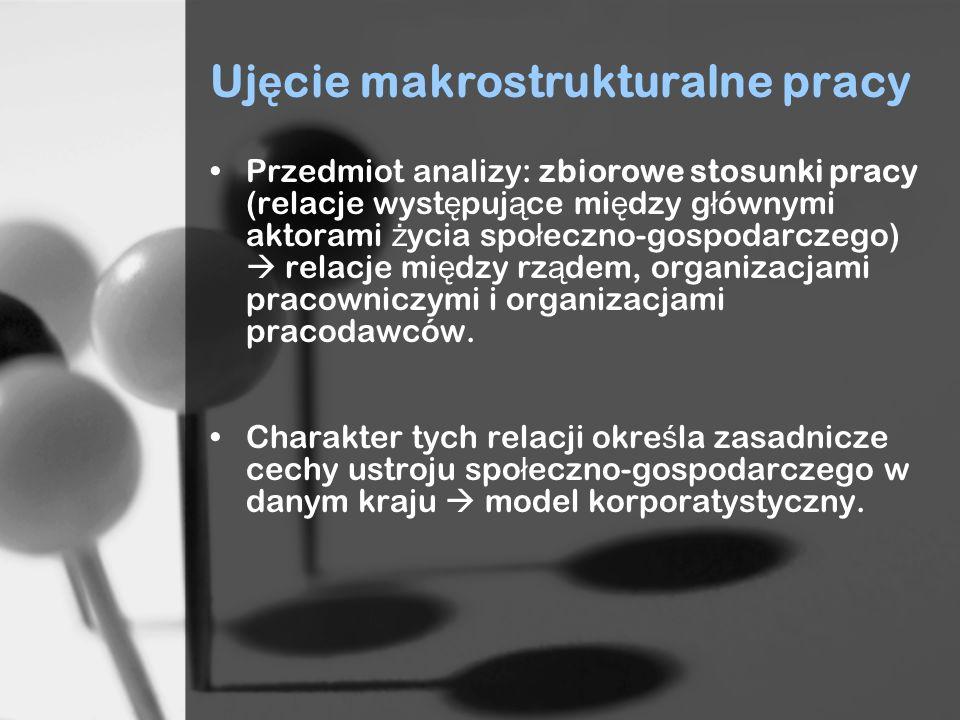 Ujęcie makrostrukturalne pracy