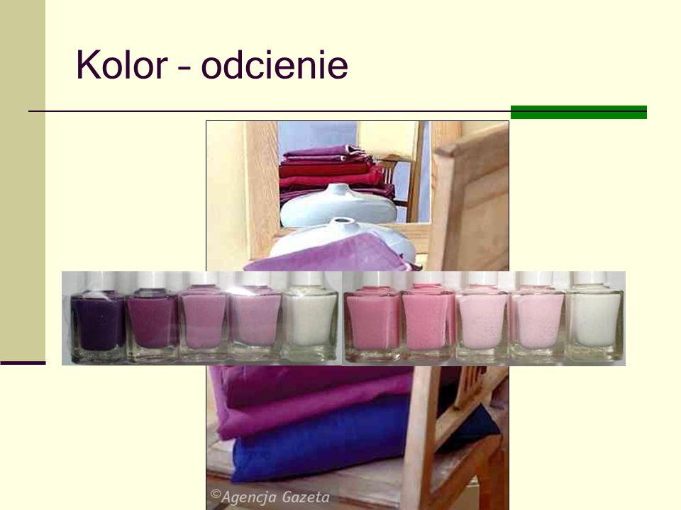 Kolor – odcienie Joanna Brzozowska doradcazawodowy@onet.eu