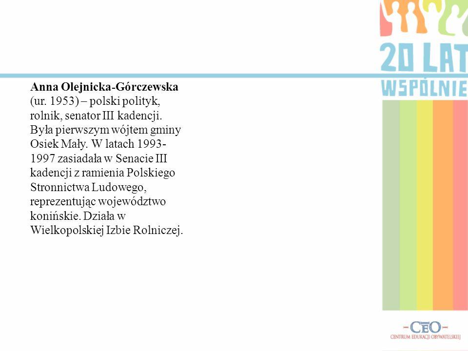 Anna Olejnicka-Górczewska (ur