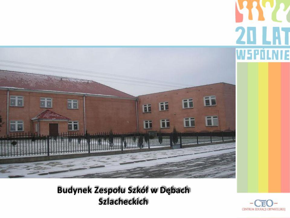 Budynek Zespołu Szkół w Dębach Szlacheckich