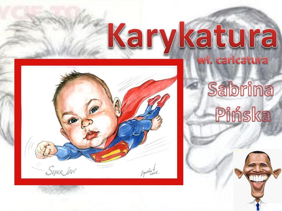 Karykatura wł. caricatura Sabrina Pińska