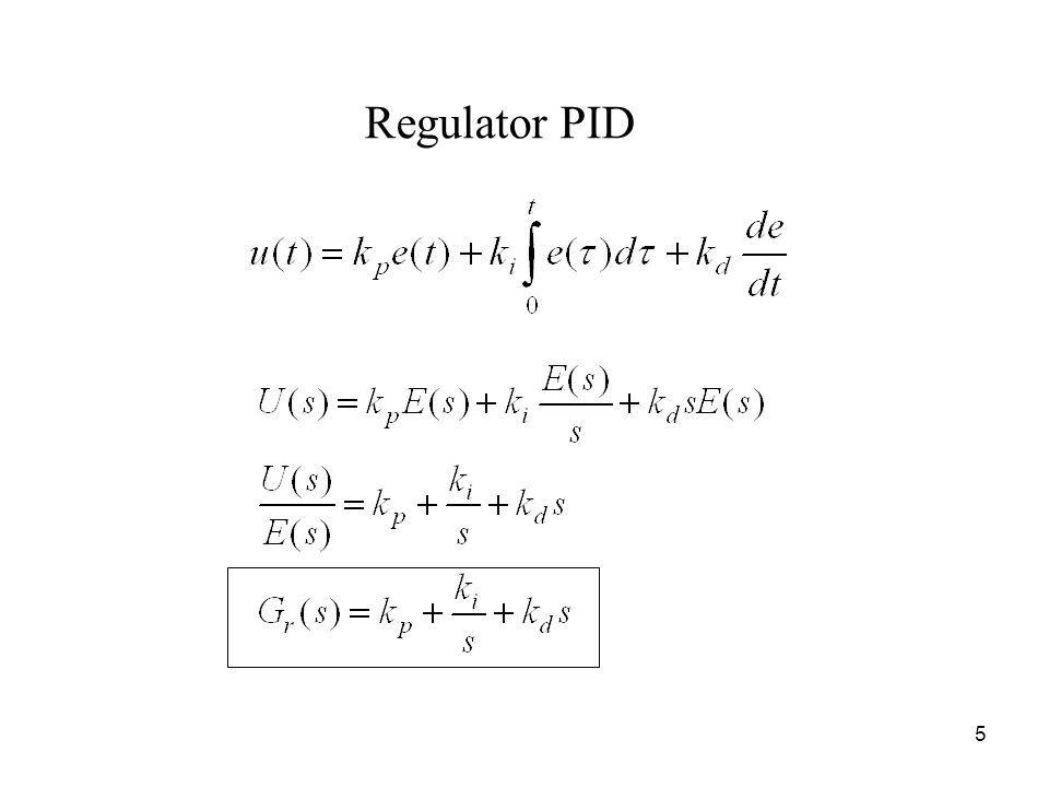 Regulator PID