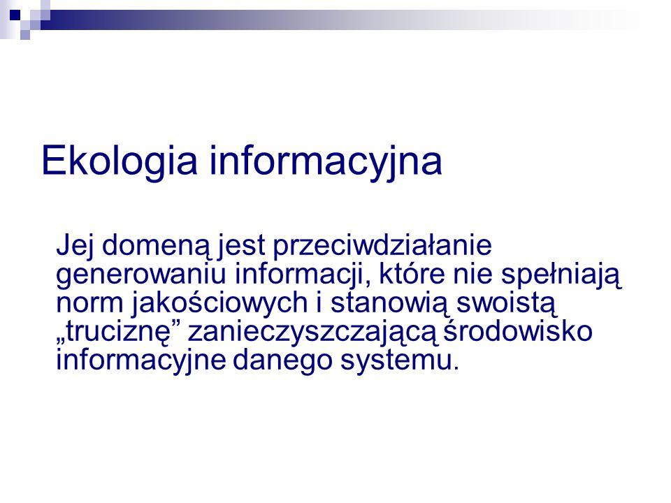 Ekologia informacyjna