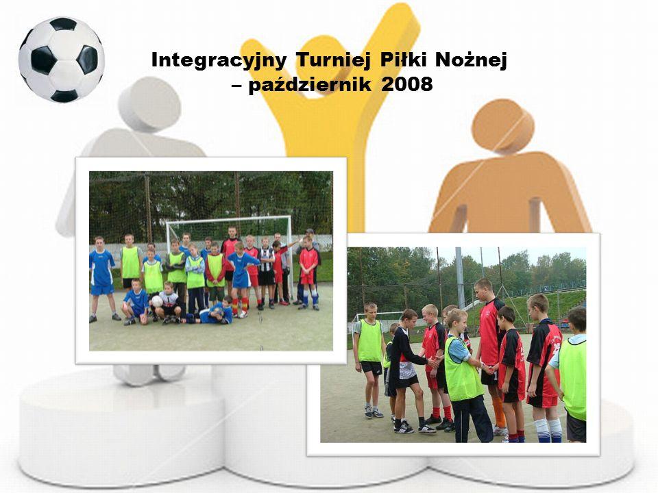 Integracyjny Turniej Piłki Nożnej – październik 2008