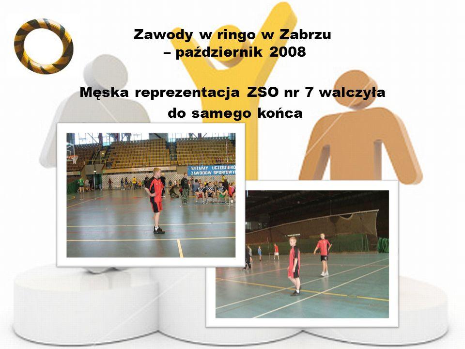 Zawody w ringo w Zabrzu – październik 2008
