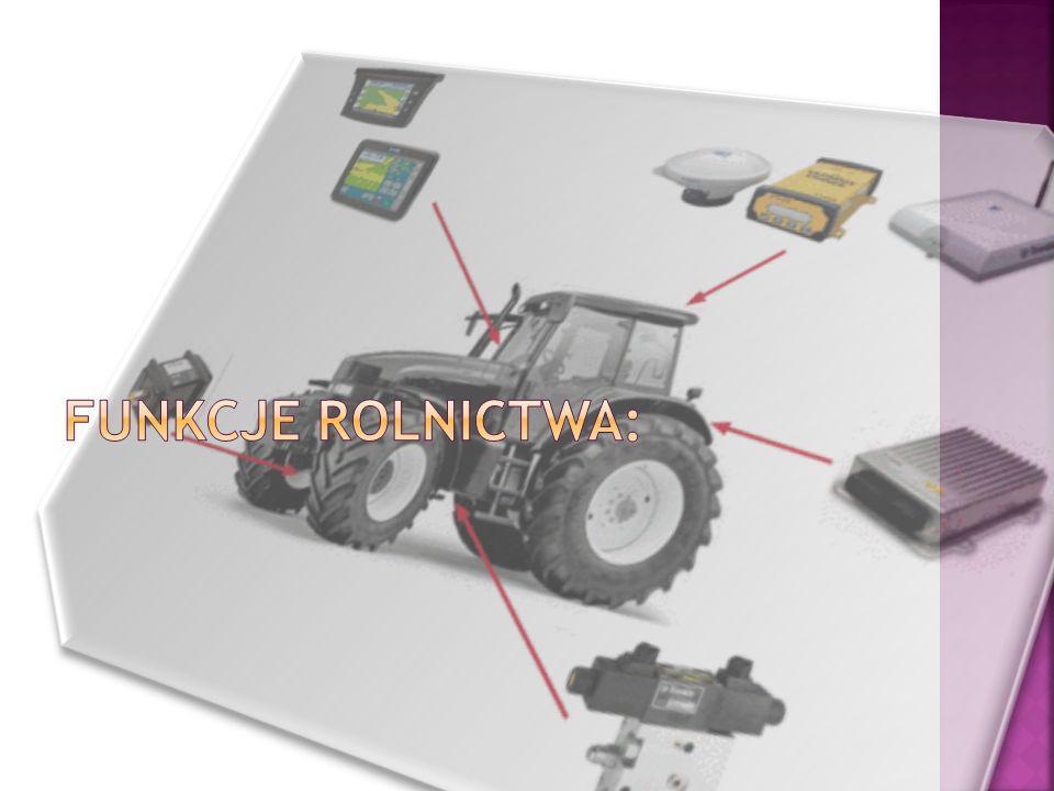 Funkcje rolnictwa: