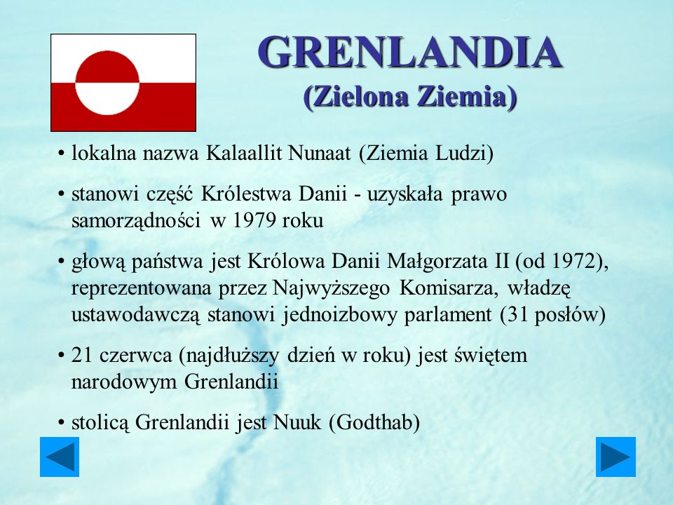 GRENLANDIA (Zielona Ziemia)