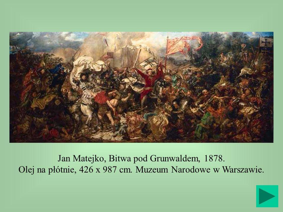 Jan Matejko, Bitwa pod Grunwaldem, 1878.