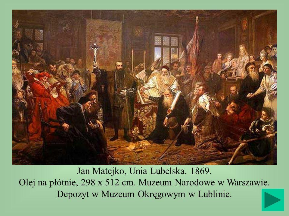 Jan Matejko, Unia Lubelska. 1869.