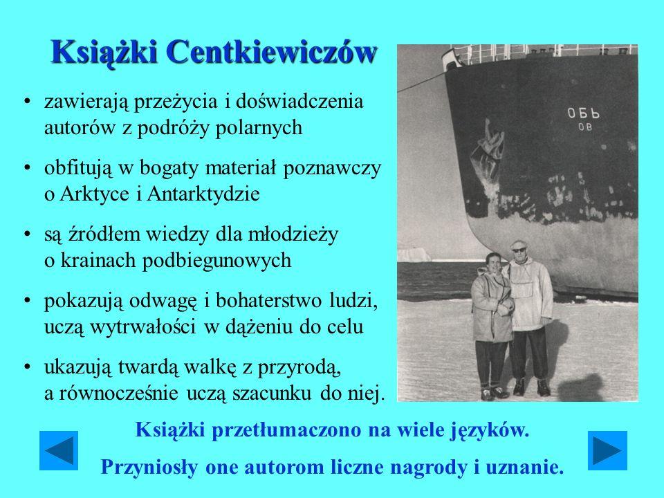 Książki Centkiewiczów