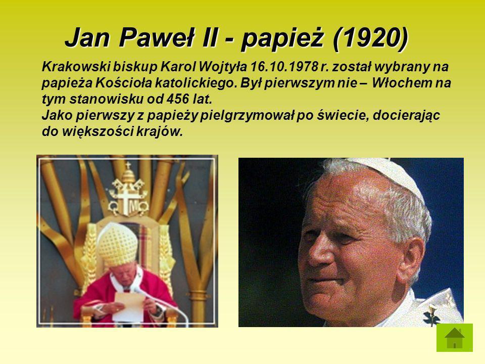 Jan Paweł II - papież (1920)