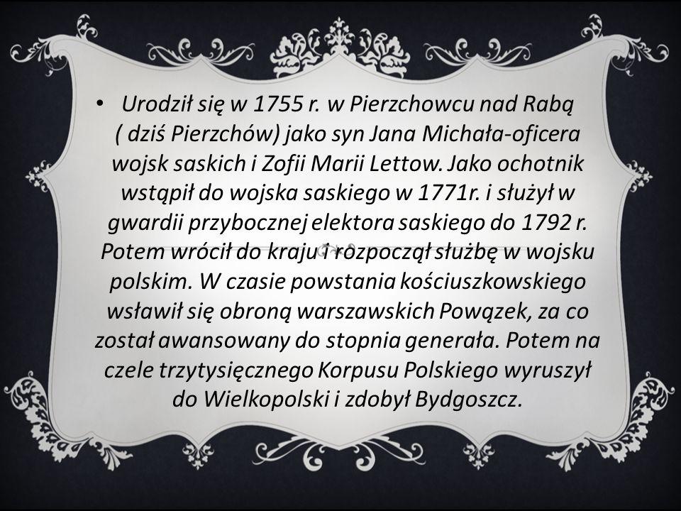 Urodził się w 1755 r.