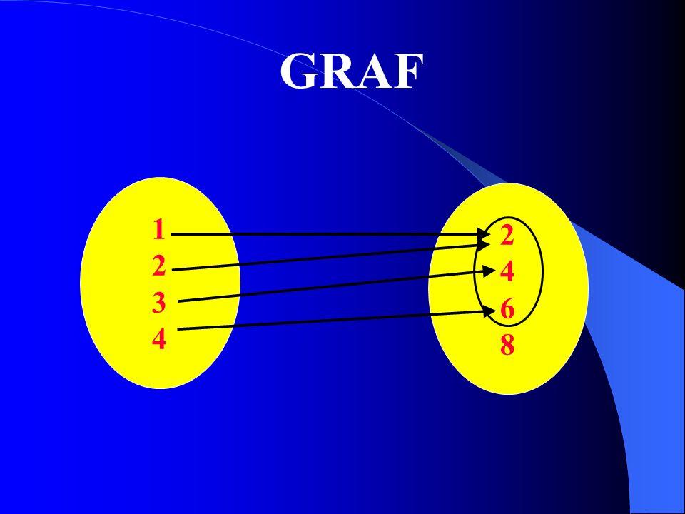 GRAF 1 2 3 4 2 4 6 8