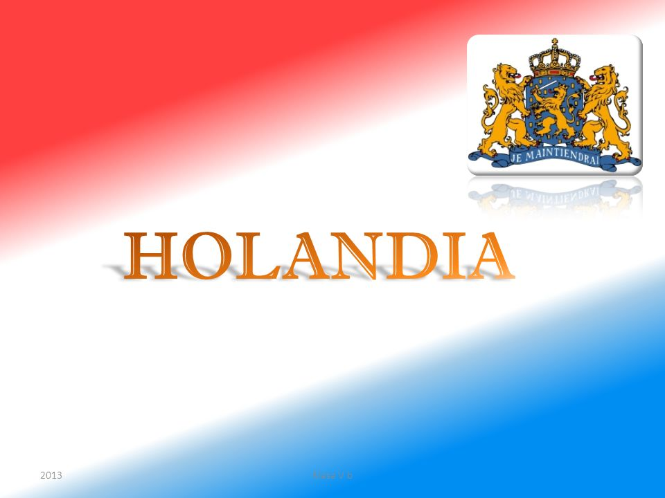 HOLANDIA 2013 Klasa V b