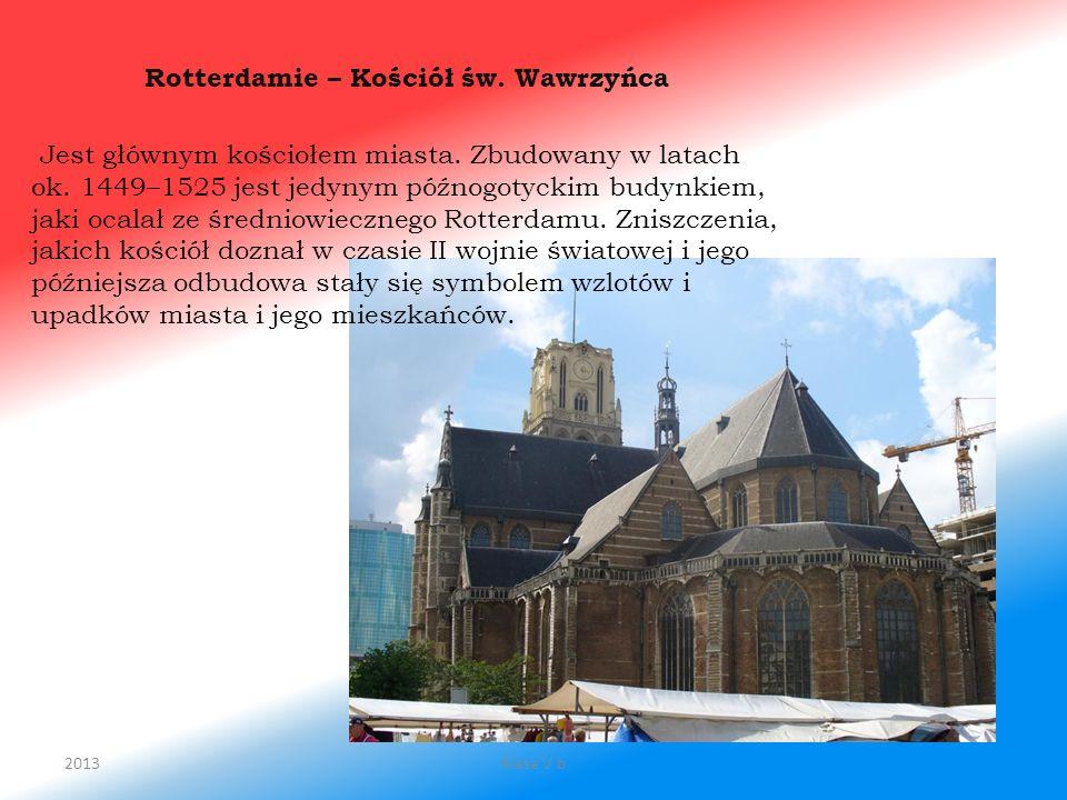 Rotterdamie – Kościół św. Wawrzyńca