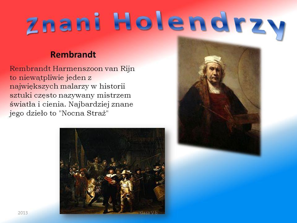 Znani Holendrzy Rembrandt