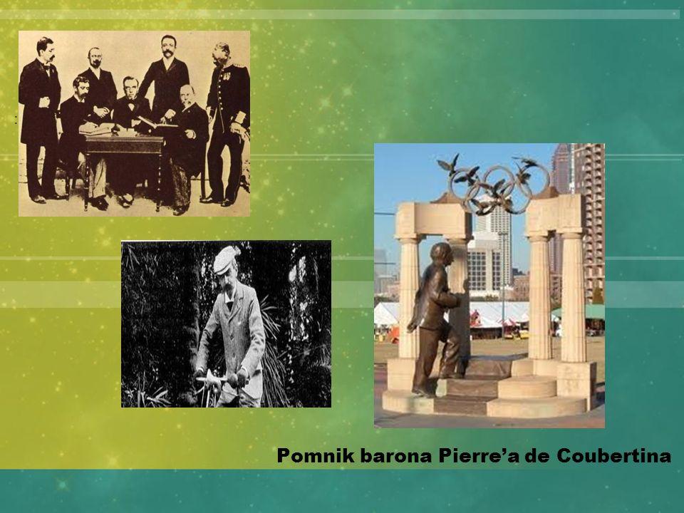 Pomnik barona Pierre'a de Coubertina