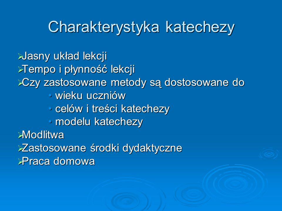 Charakterystyka katechezy