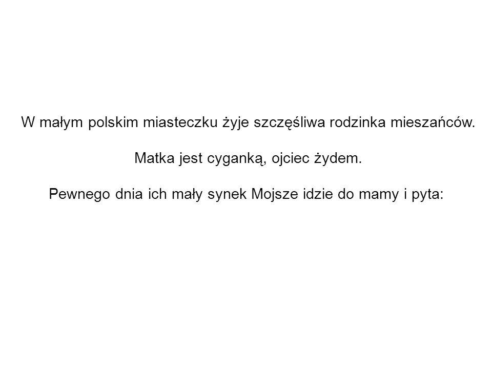 W małym polskim miasteczku żyje szczęśliwa rodzinka mieszańców.