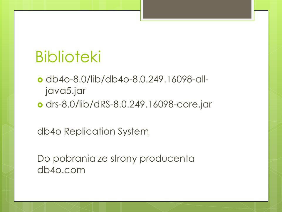 Biblioteki db4o-8.0/lib/db4o-8.0.249.16098-all-java5.jar