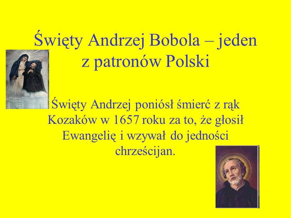 Święty Andrzej Bobola – jeden z patronów Polski