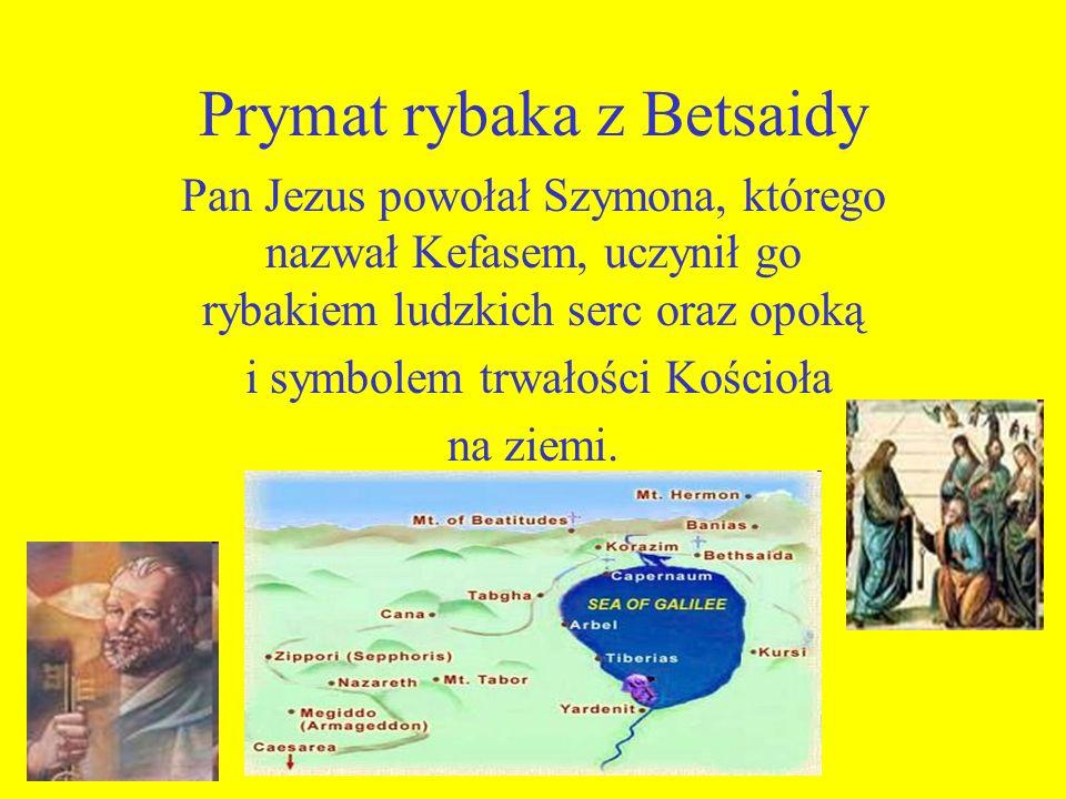 Prymat rybaka z Betsaidy