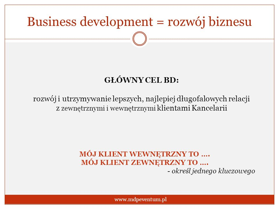 Business development = rozwój biznesu