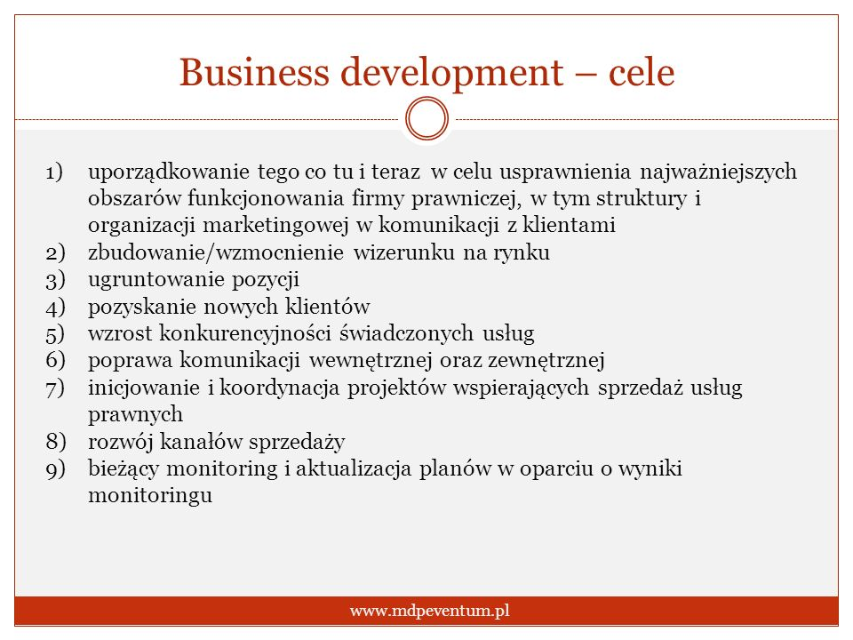 Business development – cele