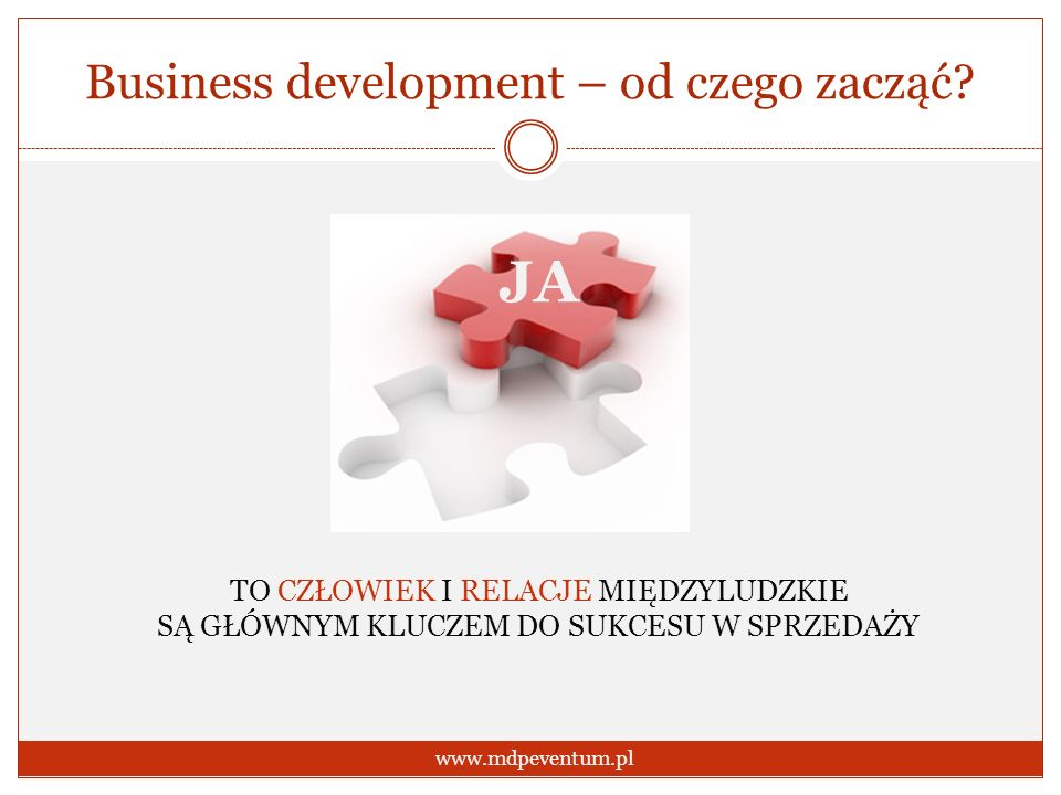 Business development – od czego zacząć