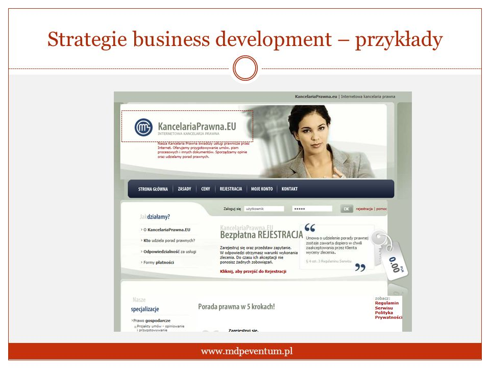 Strategie business development – przykłady
