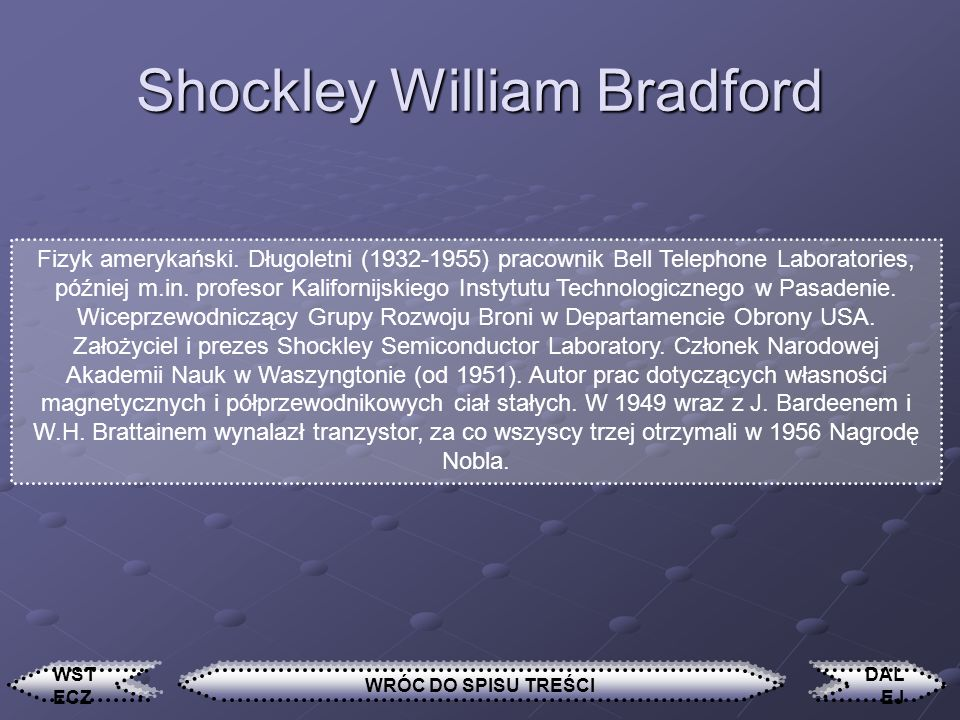 Shockley William Bradford