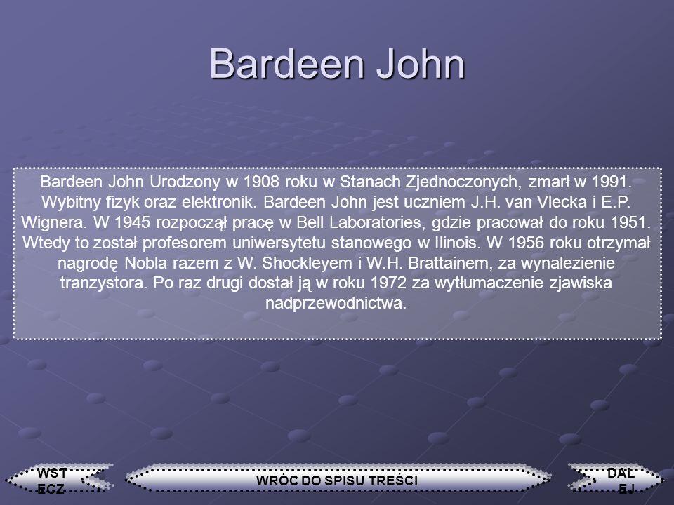 Bardeen John