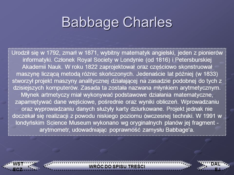 Babbage Charles