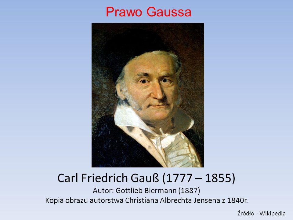 Carl Friedrich Gauß (1777 – 1855)