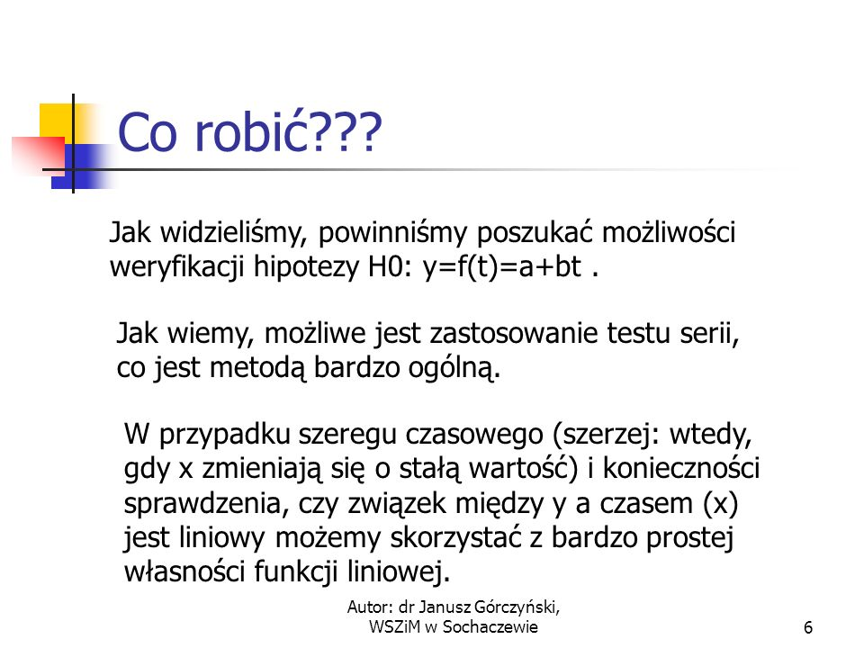 Autor: dr Janusz Górczyński, WSZiM w Sochaczewie