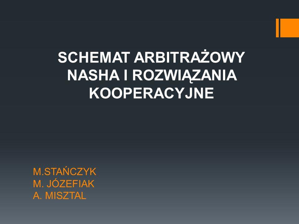 M.STAŃCZYK M. JÓZEFIAK A. MISZTAL