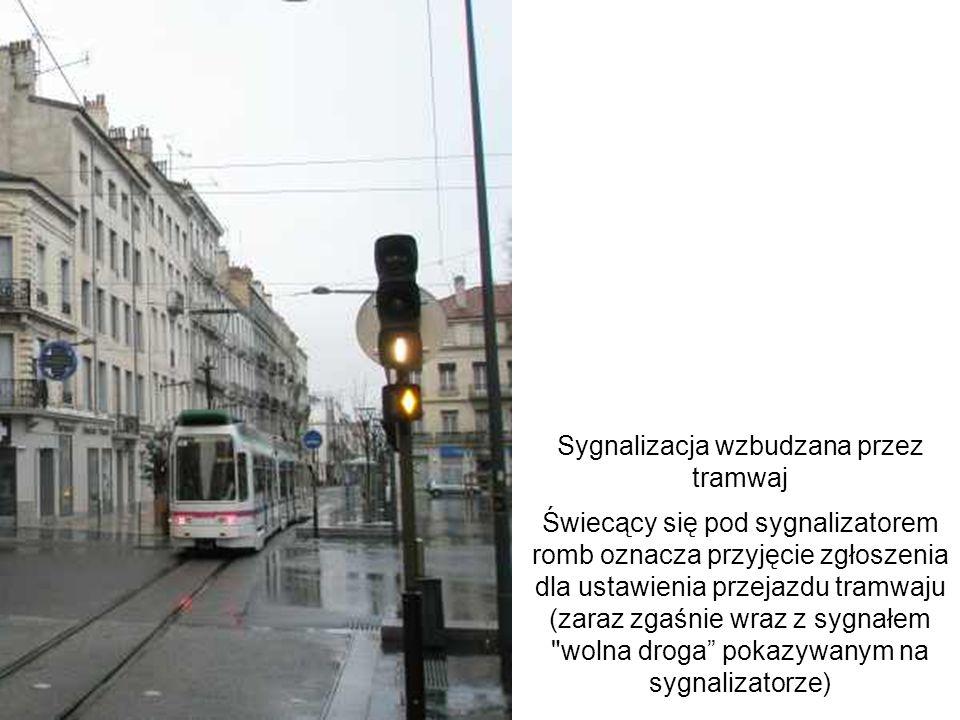 Sygnalizacja wzbudzana przez tramwaj