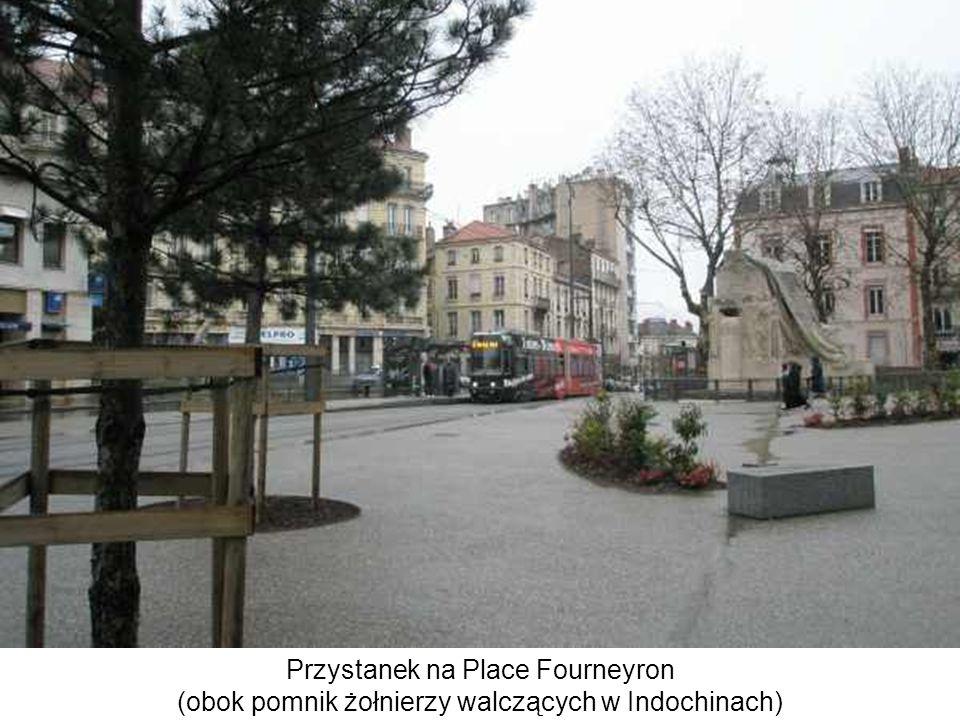 Przystanek na Place Fourneyron