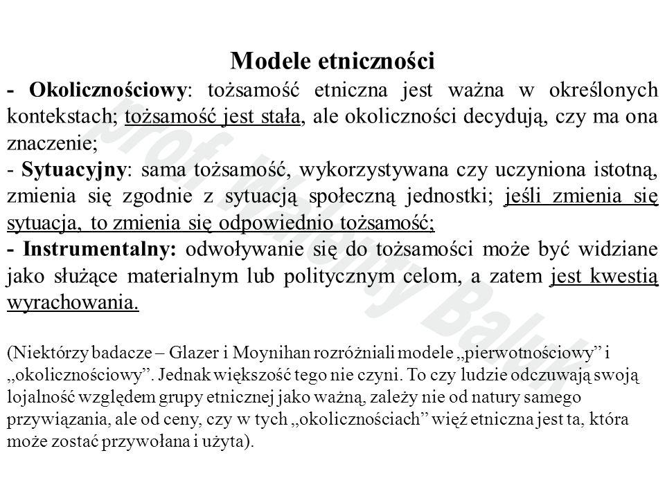 Modele etniczności