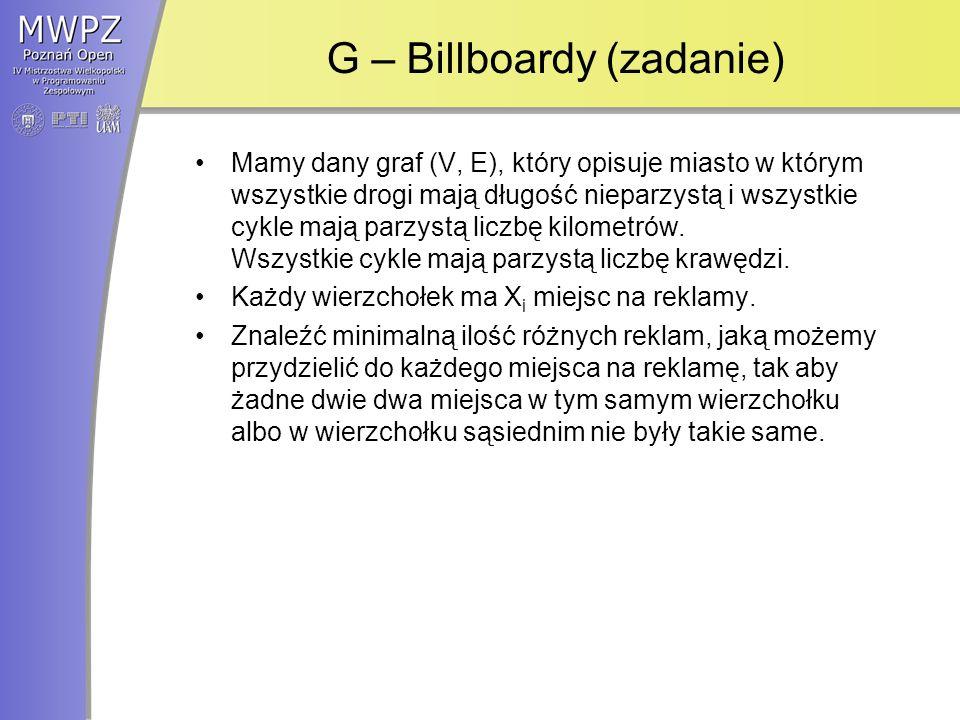 G – Billboardy (zadanie)
