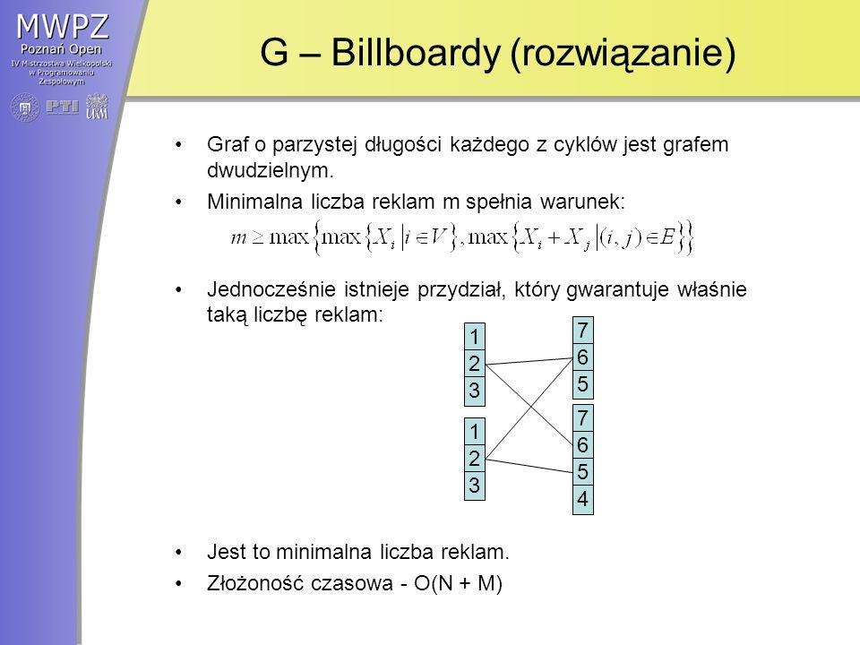 G – Billboardy (rozwiązanie)