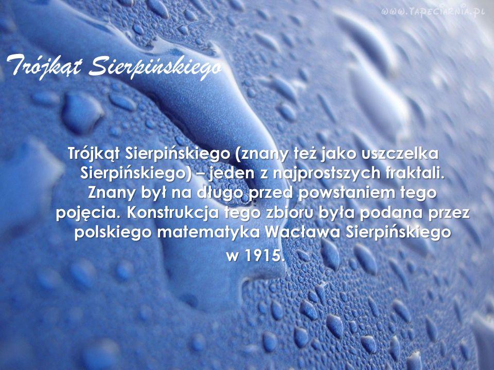 Trójkat Sierpinskiego