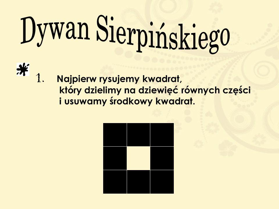 Dywan Sierpińskiego 1.