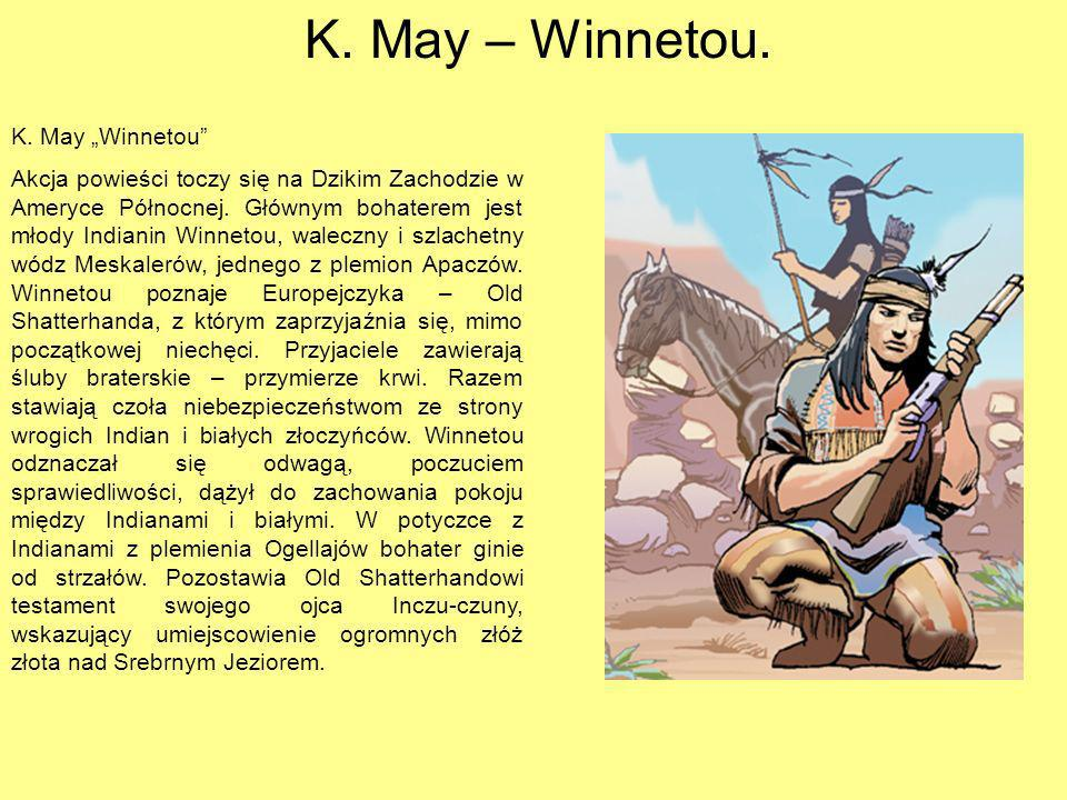 "K. May – Winnetou. K. May ""Winnetou"
