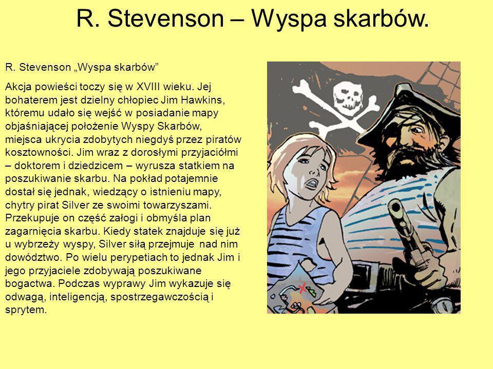 R. Stevenson – Wyspa skarbów.