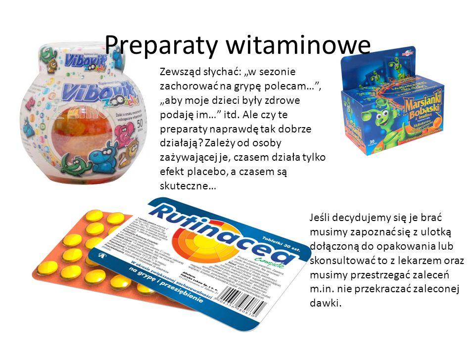 Preparaty witaminowe